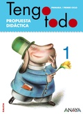 TENGO TODO, 1 EDUCACIÓN PRIMARIA (GALICIA), 1, 2 Y 3 AÑOS. RECURSOS DIDÁCTICOS. MATERIAL PARA O