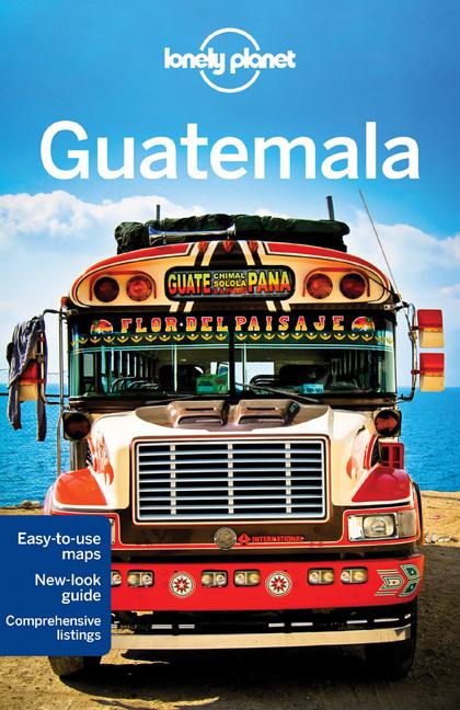 GUATEMALA 5  *LONELY PLANET ING.2013*