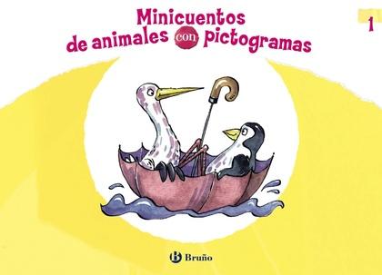 MINICUENTOS DE ANIMALES CON PICTOGRAMAS 1.