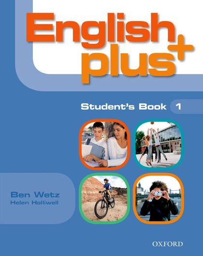 ENGLISH PLUS 1 ST
