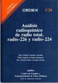 ANÁLISIS RADIOQUÍMICO DE RADIO TOTAL