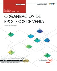MANUAL. ORGANIZACIÓN DE PROCESOS DE VENTA (TRANSVERSAL: UF0030). GESTIÓN COMERCI.