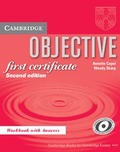 OBJECTIVE FIRST WB WITH ANSWERS KEY 2ºED