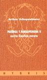 PARERGA Y PARALIPOMENA II ESCRITOS FILOSOFICOS MENORES