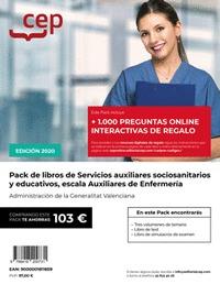 PACK DE LIBROS OPOSICIONES SERVICIOS AUXILIARES SOCIO-SANITARIOS Y EDUCATIVOS, E.