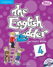 ENGLISH LADDER 4ºEP WB+CD 12