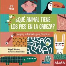 ¿QUÉ ANIMAL TIENE LOS PIES EN LA CABEZA?.