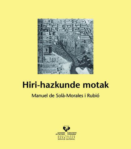 HIRI-HAZKUNDE MOTAK