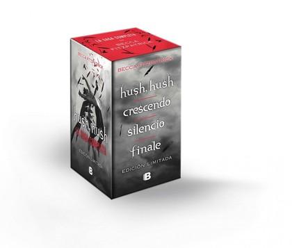 HUSH HUSH+CRESCENDO+SILENCIO+FINALE. SAGA HUSH HUSH