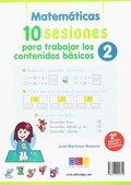 MATEMÁTICAS. 10 SESIONES PARA TRABAJAR LOS CONTENIDO BÁSICOS 2.
