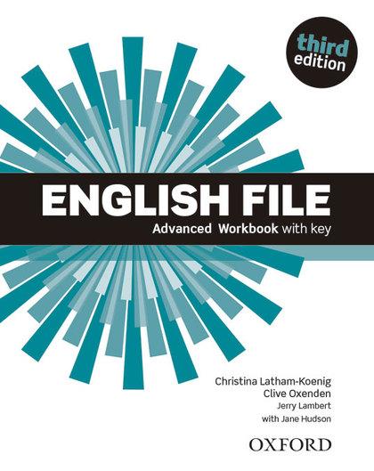 ENGLISH FILE ADVANCED (3RD ED.) WORKBOOK WITH KEY