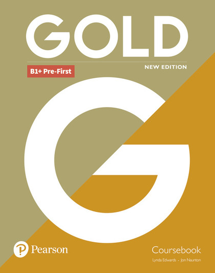 GOLD B1+ PRE-FIRST NEW EDITION COURSEBOOK