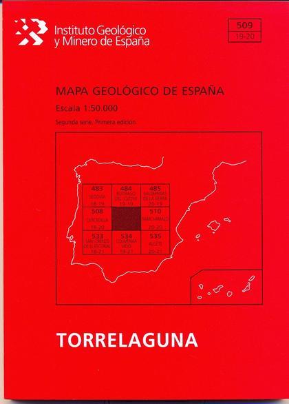 MAPA GEOLÓGICO DE ESPAÑA, E. 1:50.000. TORRELAGUNA