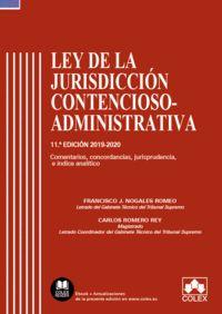 LEY DE LA JURISDICCIÓN CONTENCIOSO-ADMINISTRATIVA - CÓDIGO COMENTADO