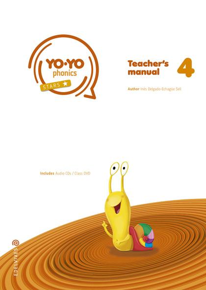 TEACHER´S PACK STORYBOOK 4  YO-YO PHONICS P.D.