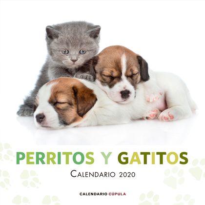 CALENARIO PERRITOS Y GATITOS 2020.
