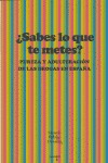 ¿SABES LO QUE TE METES? : PUREZA Y ADULTERACIÓN DE LAS DROGAS EN ESPAÑA