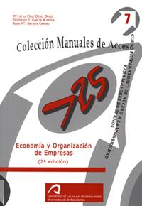 ECONOMÍA Y ORGANIZACIÓN DE EMPRESAS : CURSO PREPARATORIO DE ACCESO A LA UNIVERSIDAD PARA MAYORE