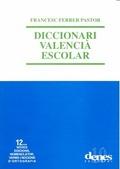 DICCIONARI VALENCIA ESCOLAR