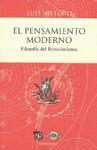 El pensamiento moderno : Filosofía del Renacimiento