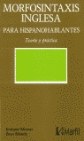 MORFOSINTAXIS INGLESA PARA HISPANOHABLANTES