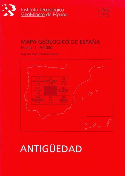 MEMORIA DEL MAPA GEOLÓGICO DE ESPAÑA, E 1:50.000. N  312 (ANTIGÜEDAD)