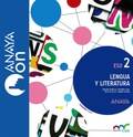 LENGUA Y LITERATURA 2. ESO. ANAYA ON..