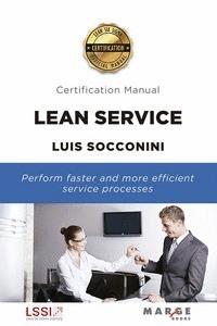 LEAN SERVICE; CERTIFICATION MANUAL