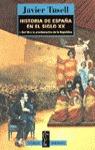 HISTORIA DE ESPAÑA EN EL SIGLO XX DEL 98 A LA PROCLAMACION REPUBLICA