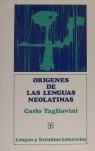 Orígenes de las lenguas neolatinas : introducción a la filología romance