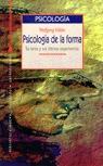 PSICOLOGIA DE LA FORMA