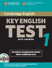 ENGLISH KEY 1 TEST PACK CD