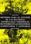MÉTODOS ESTUDIO BACTERIAS TERMÓFILAS ESPORULADAS EN INDUSTRIAS...