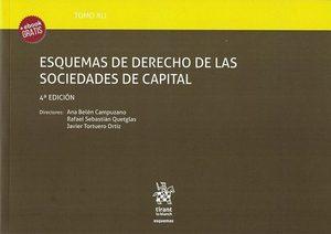 TOMO XLI ESQUEMAS DE DERECHO DE LAS SOCIEDADES DE CAPITAL ( 4ª EDICION ).