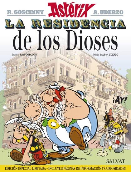 LA RESIDENCIA DE LOS DIOSES. EDICIÓN 2015.