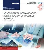 MANUAL APLICACIONES INFORMATICAS DE ADMINISTRACION DE RRHH.