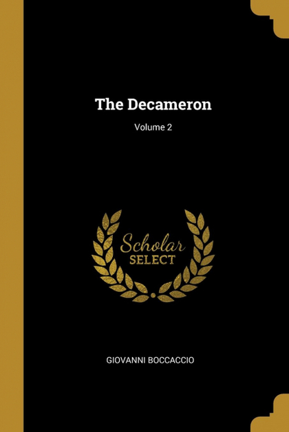 THE DECAMERON; VOLUME 2.