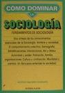 FUNDAMENTOS SOCIOLOGIA