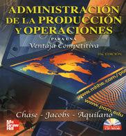 ADMINISTRACION PRODUCCION OPERACIONES 10º