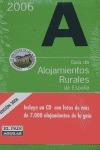 GUÍA DE ALOJAMIENTOS RURALES DE ESPAÑA, 2006