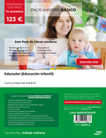 PACK AHORRO BASICO EDUCADOR EDUCACION INFANTIL MADRID.