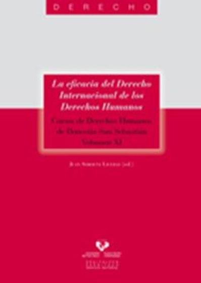 LA EFICACIA DEL DERECHO INTERNACIONAL DE LOS DERECHOS HUMANOS XI : CURSOS DE DERECHOS HUMANOS D