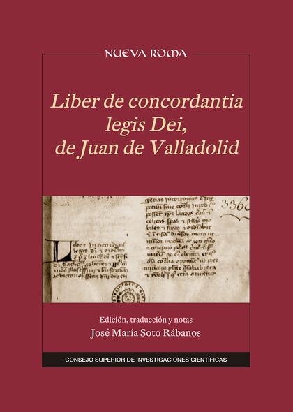 LIBER DE CONCORDANTIA LEGIS DEI