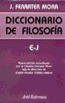 DICCIONARIO FILOSOFIA E-J