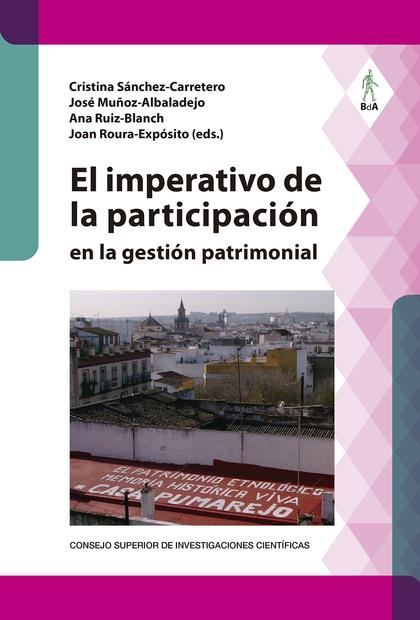 EL IMPERATIVO DE LA PARTICIPACIÓN EN LA GESTIÓN PATRIMONIAL