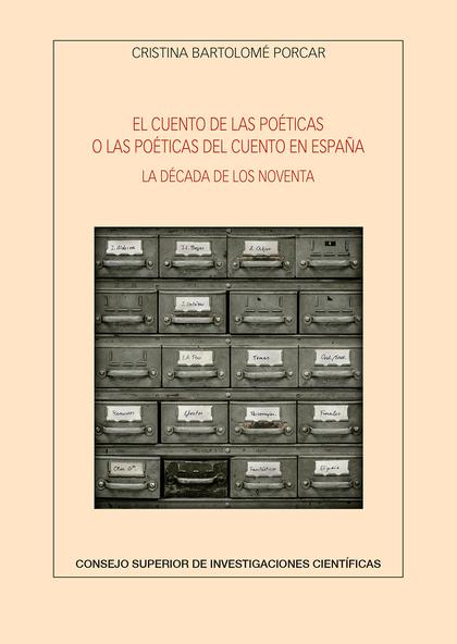 CUENTO DE LAS POETICAS O LAS POETICAS DEL CUENTO EN ESPAÑA