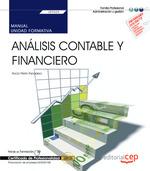 MANUAL. ANALISIS CONTABLE Y FINANCIERO (UF0333). CERTIFICADOS DE PROFESIONALIDAD.