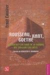 Rousseau, Kant, Goethe : Filosofía y cultura en la Europa del Siglo de las Luces