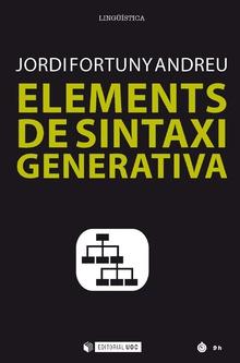 ELEMENTS DE SINTAXI GENERATIVA.