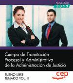 CUERPO TRAMITACION PROCESAL Y ADMINISTRATIVA VOL 3